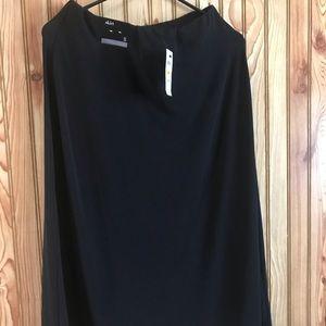 Alfani Black stretch skirt small